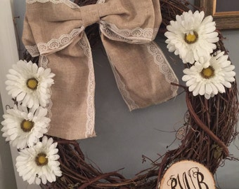 Rustic Custom Wreath
