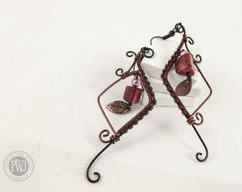 Dangle Lantern Earrings