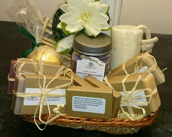 Organic Ultimate Collection Gift Basket for Bath