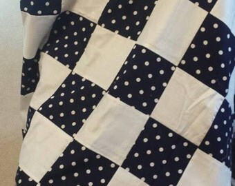 Polka 'Dotty' Quilt Top - Lap
