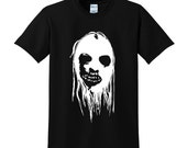 SCARY HALLOWEEN FACE Tshirt Trick or Treat Fancy Dress Scary Costume