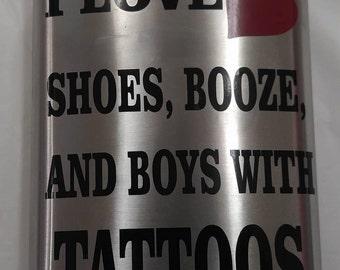 Shoe Booze Flask