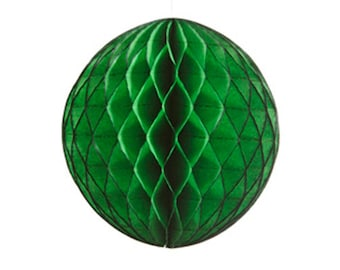A ball dimpled green size 20 cm
