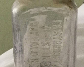 Antique Easybright Polishes B F Stinson Co Buffalo NY Bottle