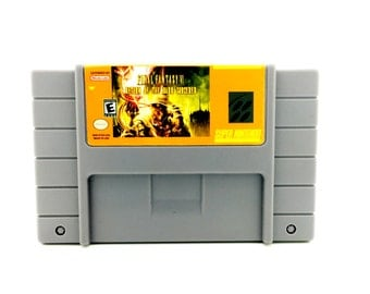 Final Fantasy Return of the Dark Sorcerer - Snes Reproduction - Snes Repro, Snes game