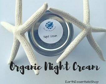 Organic Facial Night Cream