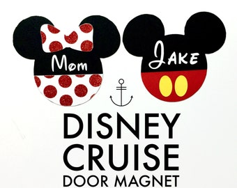 Disney Cruise Door Magnet Mickey Minnie Mouse Decoration Decor Stateroom