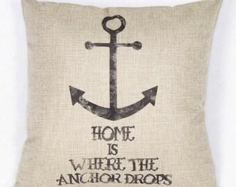 Anchor Pillow Decor