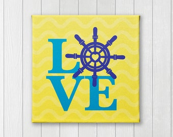 Wheel, Canvas Nursery wall  art and decor