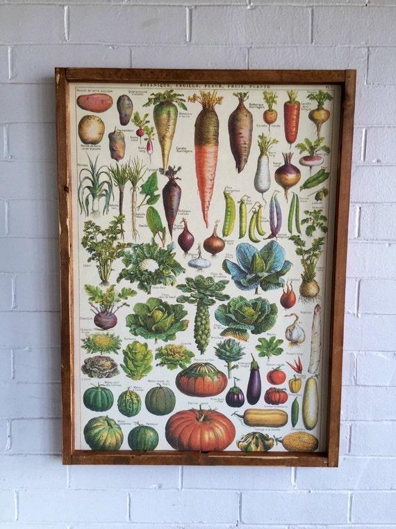 French Vegetable Garden Sign Farmhouse Decor By