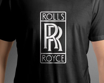ROLLS ROYCE Motor Cars Logo shirt vehicle tee C79