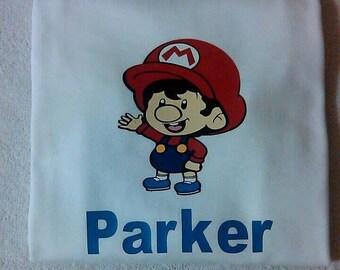 Baby Mario shirt.