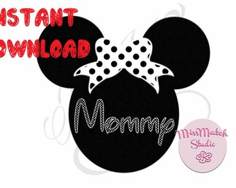 Mickey Mouse Head Disney Family Download Iron On Craft Digital Disney Cruise Line Magnet Shirts