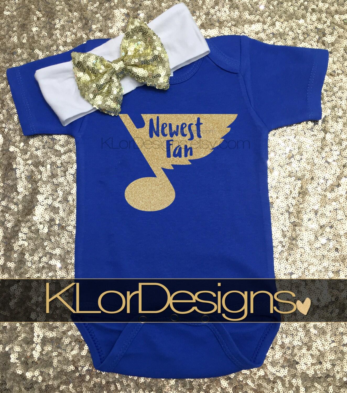 St Louis Blues baby St Louis Blues Newest Fan baby