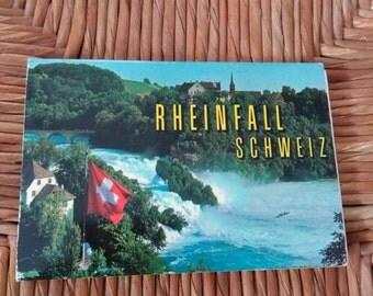 Set of 20 snapshots of the Rheinfall