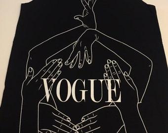 Black Vogue Tank