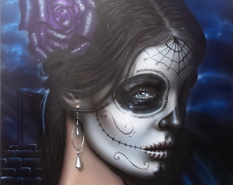"""8X10"""" Day of the Dead print"""