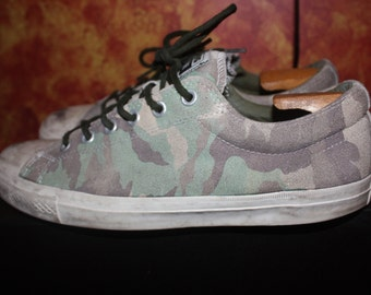 Converse Cons Skateboard Camoflauge size 11.5