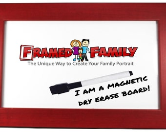 11x14 Magnetic Dry Erase Board - Plain & Simple