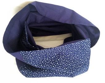 Marine Star Blue scarf scarf