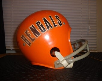Autographed Ken Anderson Bengals Youth Football Helmet