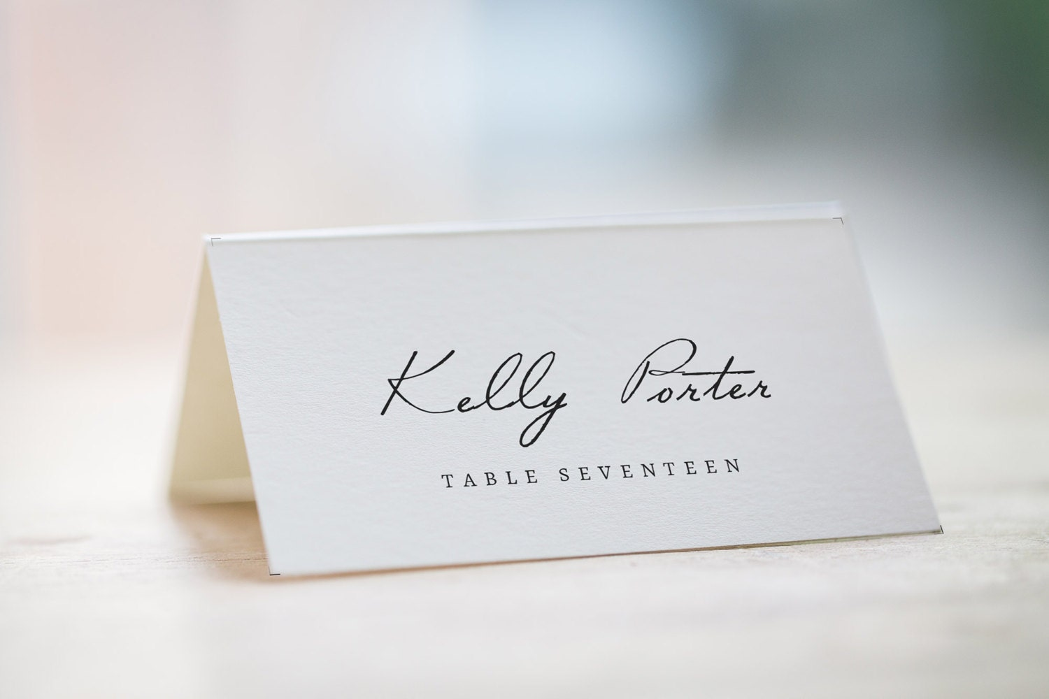 Exceptional image for free printable wedding place cards