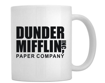 Dunder Mifflin Inc Funny Coffee Mug