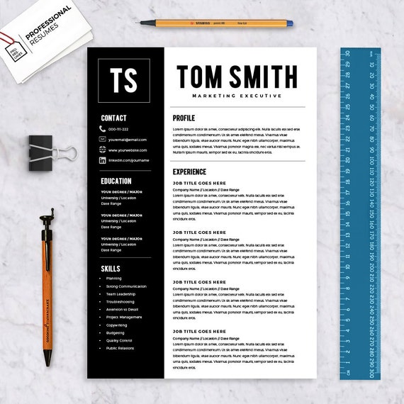 resume template resume builder cv template by yourproresumes