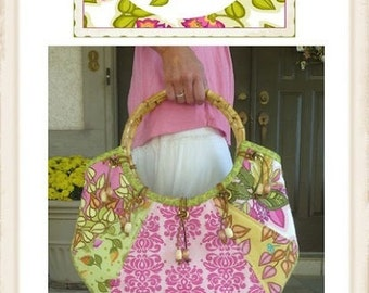 """CLEARANCE-Lila Tueller- Retro """"Groovy"""" Bag pattern, No 15"""
