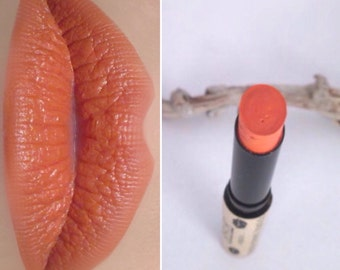 90's Sunset Vegan Coral Lipstick - Organic Natural