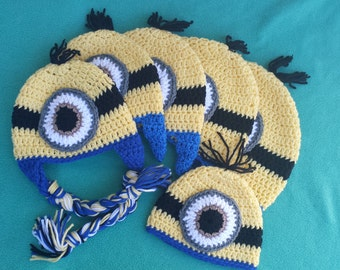 Pack of Minion Hat
