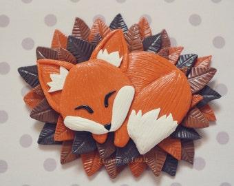 Magnet magnet Fox / handmade