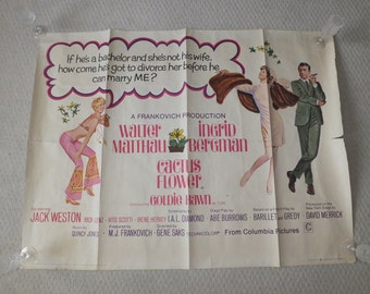 LOT of 6 vintage UK Quad Movie Posters