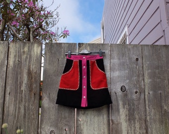 Suede Nasty Gal Mini Skirt