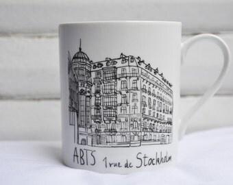 My building my business, my home on a coffee mug