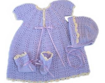 Lavender Dress Set