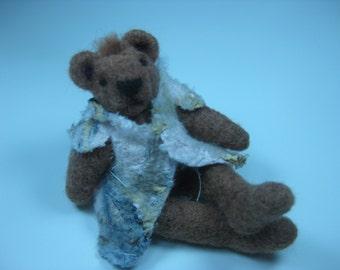 Bear needle felt