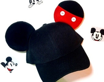 Mickey mouse Ears / hat Disney inspired for men