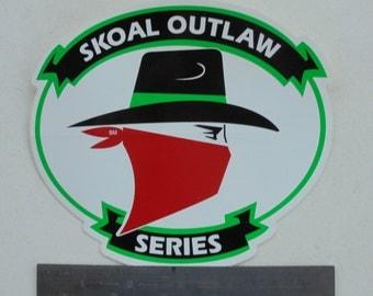 Rare Skoal Outlaw series decal
