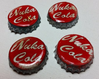 Nuka Cola Caps - set of 6