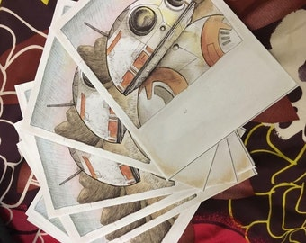 BB-8 watercolor prints