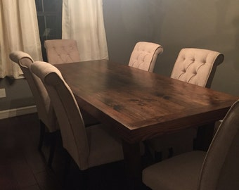 Farmhouse Dining Table,Dining Room Furniture,Wooden Table,Country Table