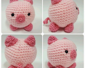 Amigurumi Pig - Made to order