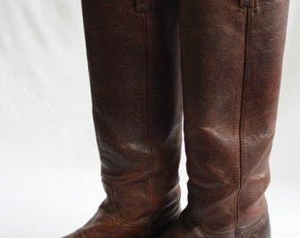 Vintage 90's Frye riding boots
