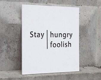Stay hungry stay foolish, Gart0032