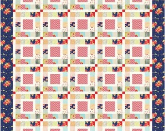 Katie Marie PDF Quilt Pattern by Mountain Rose Designs
