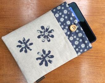 iPad Pro 9.7, iPad Air, iPad Air 2 case cover,  applique flowers