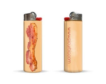 Bacon Edition Bic Lighter by Pic Ur Bic