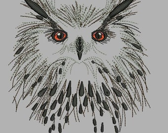 Owl_Velvet - Machine Embroidery Design