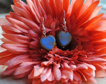 Hearts Of Blue Earrings